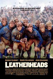 2008 - Leatherheads Movie Poster -1
