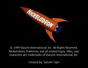 Nickelodeon Logo From The Mystery of Mount Moon