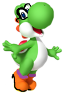 Yoshi with glasses
