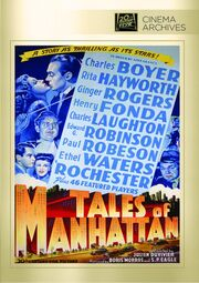 1942 - Tales of Manhattan DVD Cover (2013 Fox Cinema Archives)