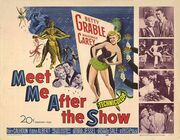 1951 - Meet Me After the Show Movie Poster