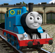 3D animated Thomas
