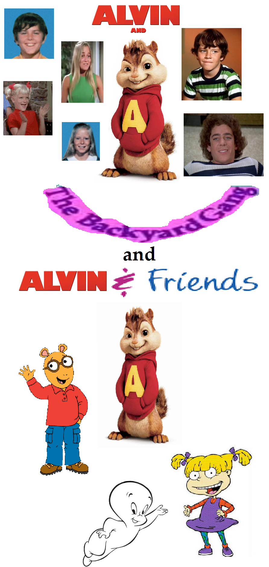 Barney And The Backyard Gang Theme Song alvin & the chipmunks home video | scratchpad | fandom poweredwikia