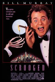 1988 - Scrooged Movie Poster