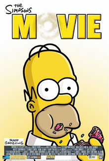 The simpsons movie 2007 poster by lflan80521-da7knn1