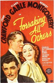 1934 - Forsaking All Others Movie Poster