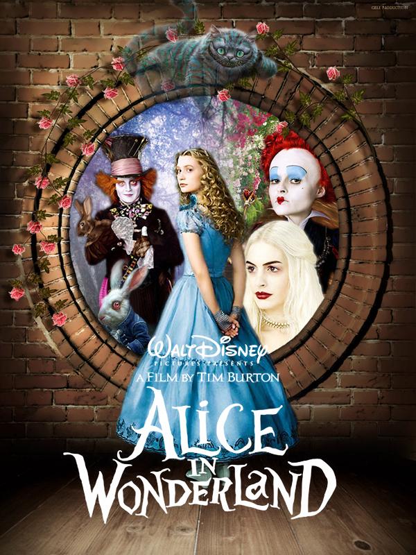 Алиса в стране чудес афиша фото