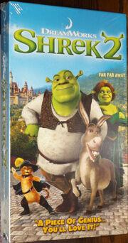 Shrek 2 2004 VHS