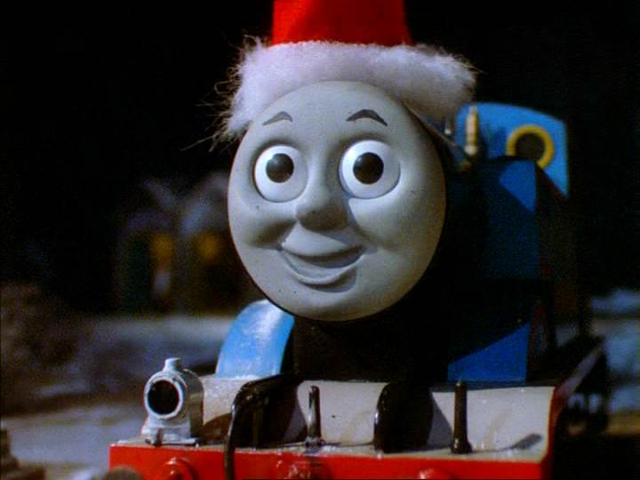 Thomas And The Missing Christmas Tree Ladybird