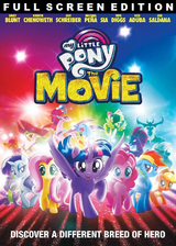 Opening to My Little Pony: The Movie 2018 DVD (Full Screen Edition)