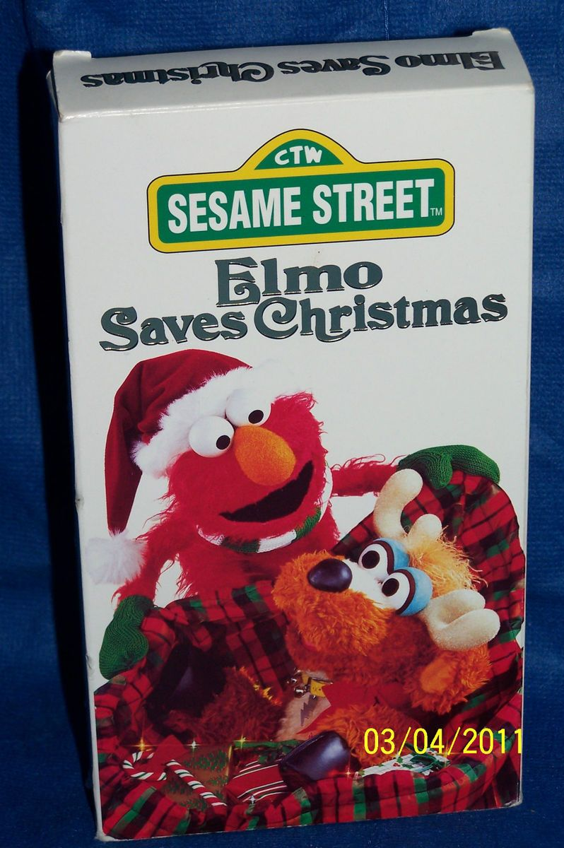 159029474 sesame street elmo saves christmas vhs 1996jpg - Sesame Street Elmo Saves Christmas