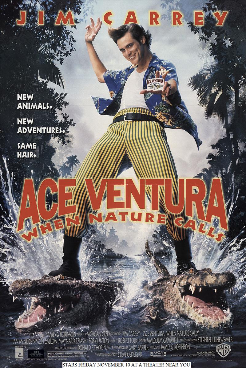 Ace Ventura: When Nature Calls (1995) Watch Free HD Full