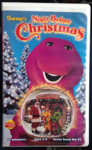 Opening And Closing To Barney's Night Before Christmas 1999 VHS ...