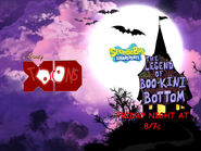 Disney XD Toons Spongebob Squarepants The Legend Of Boo-Kini Bottom Promo 2017