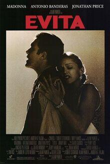 1996 - Evita Movie Poster