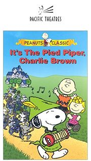 Its The Pied Piper Charlie Brown Poster (Pacific Theatres Print)