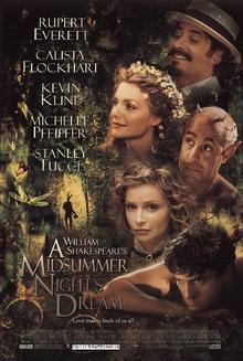 A Midsummer Night Dream (1999) Poster