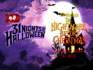 Disney XD Toons 31 Nights Of Halloween The Nightmare Before Christmas Promo 2018