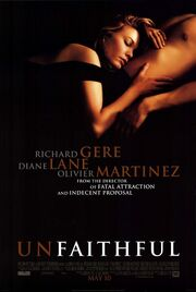 2002 - Unfaithful Movie Poster