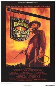 1973 - High Plains Drifter Movie Poster