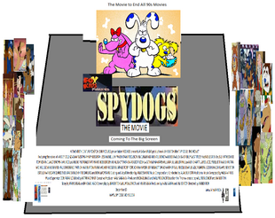 Spy Dogs The Movie (1999) Theatrical Poster 2