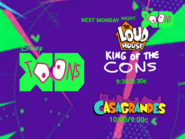 Disney XD Toons The Loud House King Of The Cons Right After The Casagrandes Next Monday Promo 2019 UK