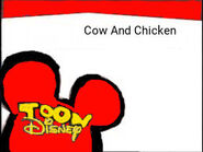 Toon Disney Cow And Chicken Bumper 2004