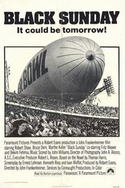 1977 - Black Sunday Movie Poster