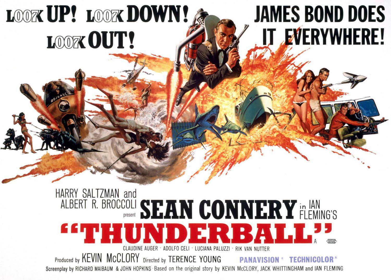 Αποτέλεσμα εικόνας για thunderball poster