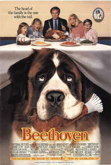 Beethoven (1992) Poster
