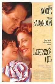 Lorenzo's Oil poster