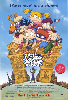 Rugrats In Paris The Movie (2000) Poster