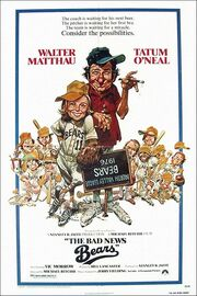 1976 - The Bad News Bears Movie Poster