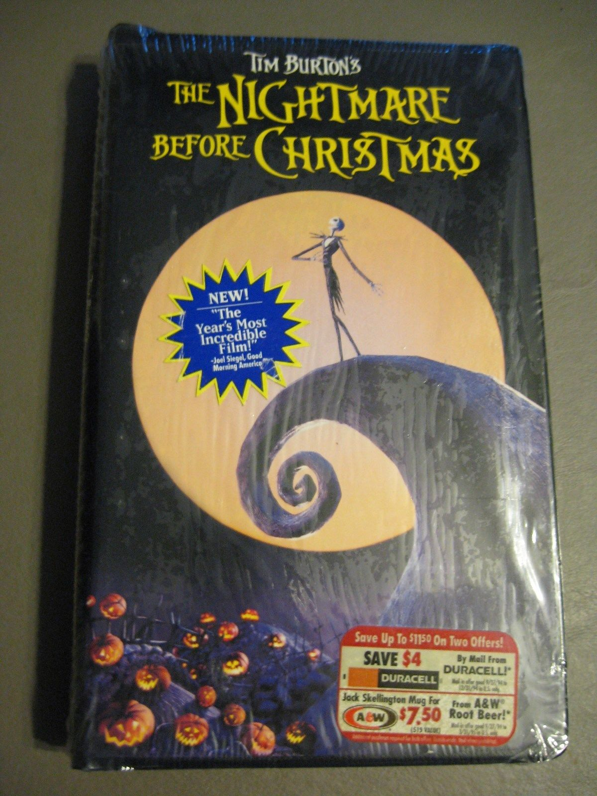 Image - The Nightmare Before Christmas VHS.jpeg | Scratchpad ...