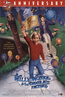 Willy Wonka And The Chocalate Factory 1996 Re-Release Poster