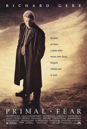 1996 - Primal Fear Movie Poster