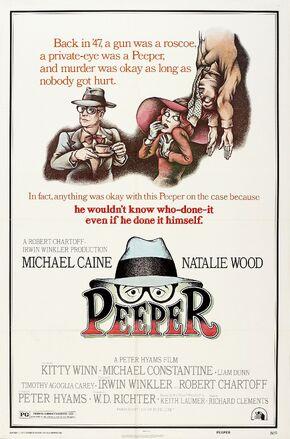 1976 - Peeper Movie Poster
