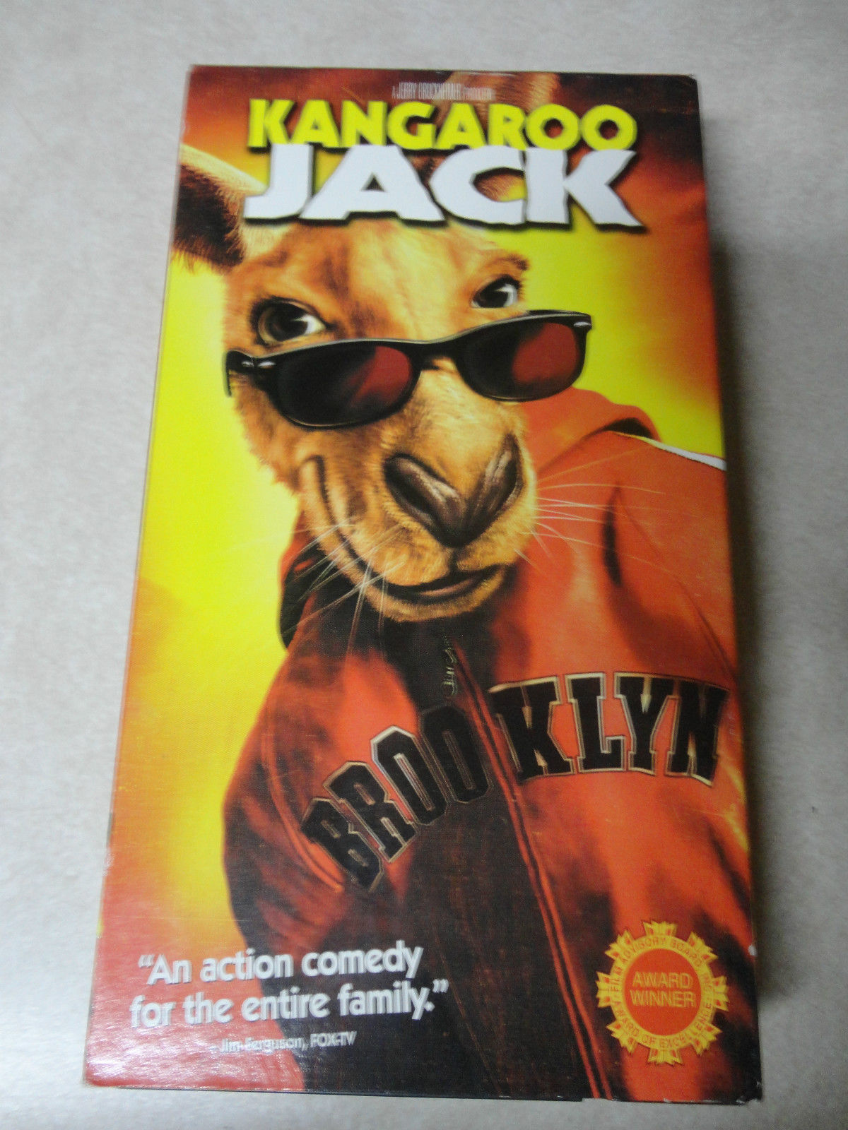 opening to kangaroo jack 2003 vhs (from warner home video