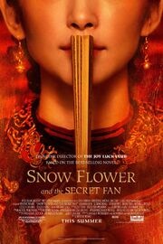 2011 - Snow Flower and the Secret Fan Movie Poster