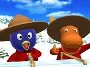 Pablo and Tyrone scream