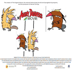 The Angry Beavers Movie (2000) Theatrical Poster