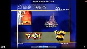 Mulan II Trailer Sneak Peeks From The Lion King 1 2 2004 DVD
