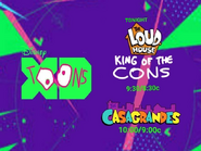 Disney XD Toons The Loud House King Of The Cons Right After The Casagrandes Tonight Promo 2019