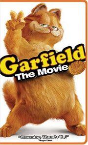Garfield The Movie VHS