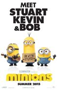 MINIONS 2015 POSTER TEASER