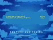 Toon Disney Spongebob Squarepants To Cartoon Theatre