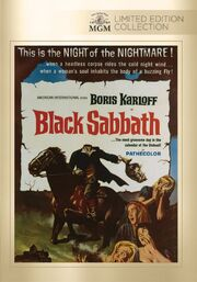 1963 - Black Sabbath DVD Cover (2015 MGM Limited Edition Collection)