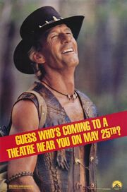 1988 - Crocodile Dundee II Movie Poster 1
