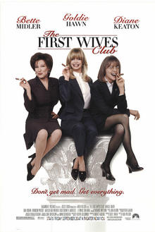 The First Wives Club (1996) Theatrical Poster