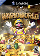 Wario on Wario World Cover Art